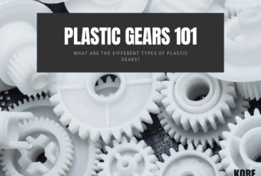What are the Different Types of Plastic Gears and Their Most Common Applications?